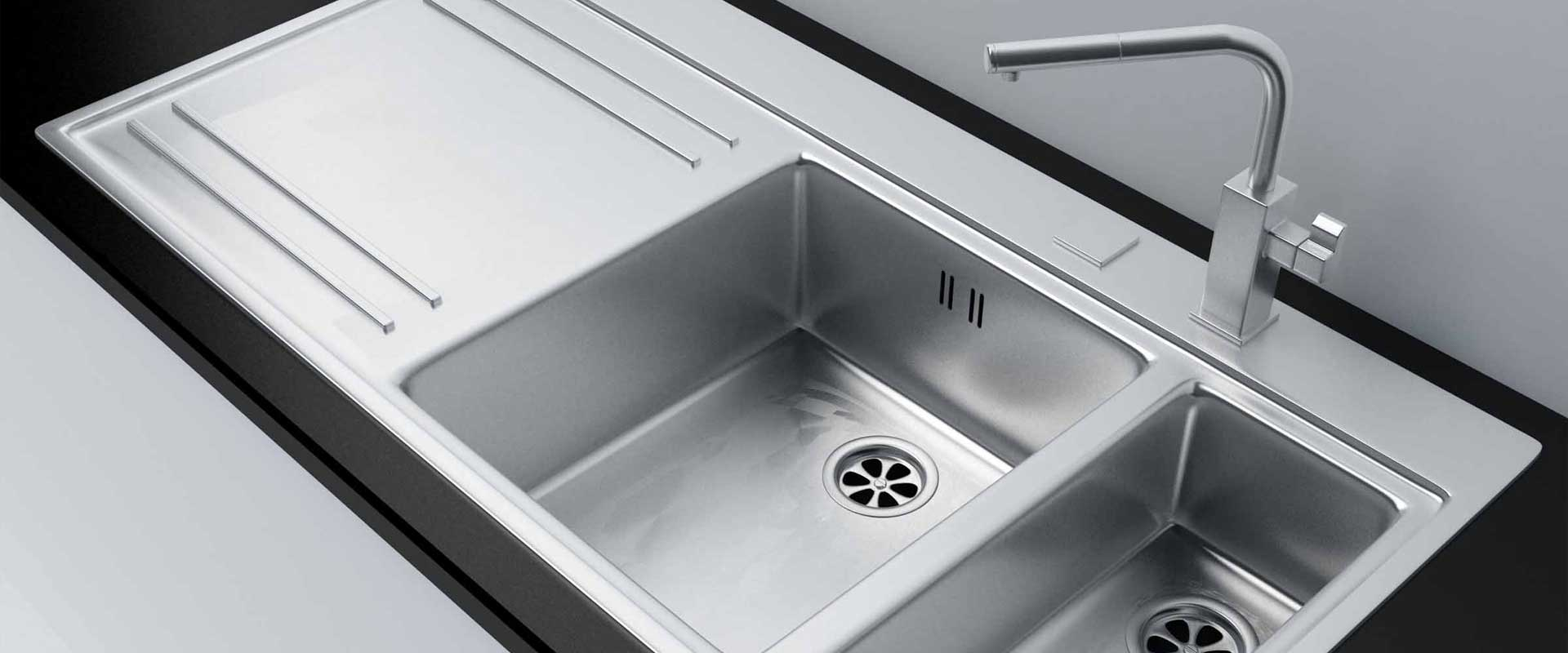 how to clean porcelain kitchen sink